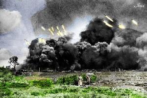 گالری عکس های رنگی جنگ جهانی دوم