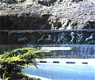 معرفی نقش های برجسته و سنگ نوشته های استان کردستان