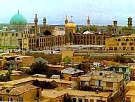 جاذبه های گردشگری و توریستی شهر مشهد