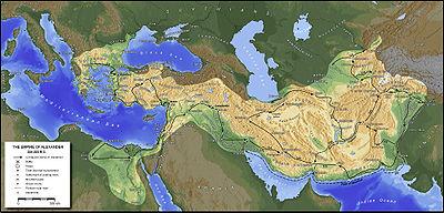 مسیر حمله اسکندر به ایران
