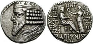 GotarzesII 300x142 پادشاهان اشکانیان،گودرز دوم