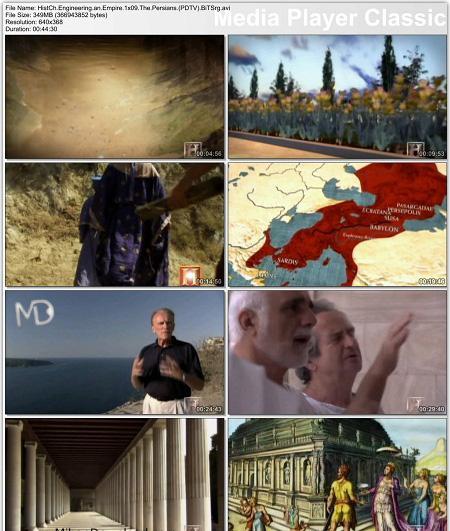 مستند مهندسی امپراطوری ، ایرانیان Engineering an Empire Persians