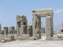 apadana بناهای دوران هخامنشی