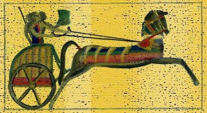 hittite chariot 300x164 باورهای هیتیها و میتانیها